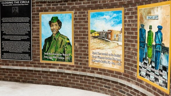 Women's Army Corps member who refused to give up bus seat in 1952 honored with plaza, murals