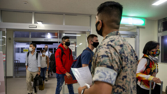Okinawa Reception Center Welcomes Marines, Sailors Despite Pandemic