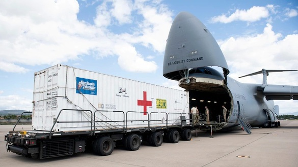 Travis Airmen Deliver COVID-19 Aid, Other Supplies to Honduras