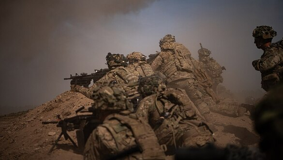 'No lines on the battlefield.' The Pentagon's new warfighting concept takes shape