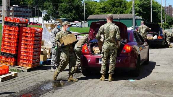 Ohio National Guard Extends Food Bank Support Mission