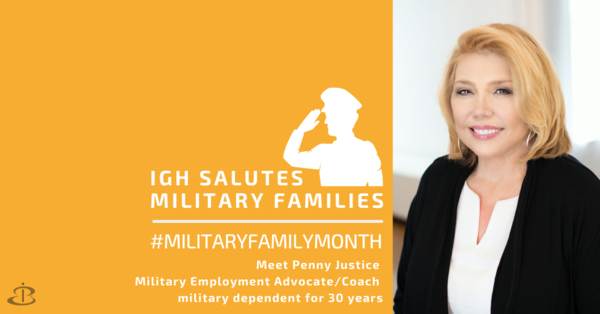 IGH Salutes Penny Justice during Military Family Month