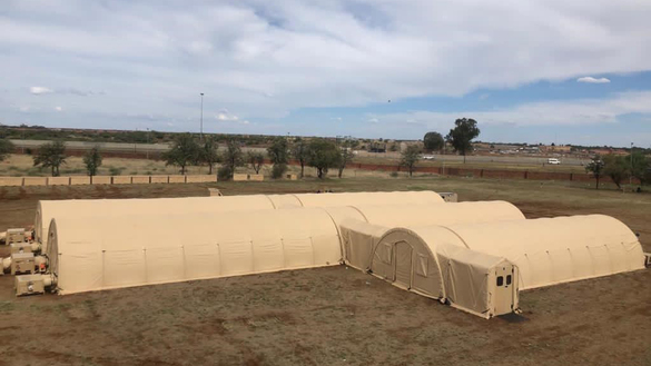 U.S. Donates Field Hospital to South Africa for COVID-19 Response