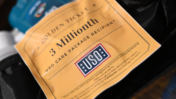 USO Delivers Three-Millionth Care Package