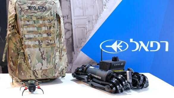 Rafael combines technologies to give combat robots a 'brain' to map threats indoors