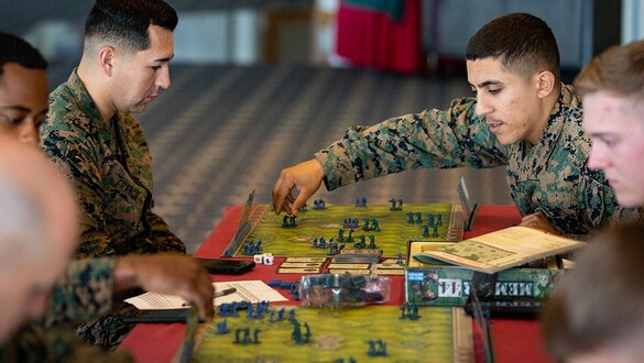 The Marine Corps expects to break ground on a state-of-the-art wargaming center in 2021