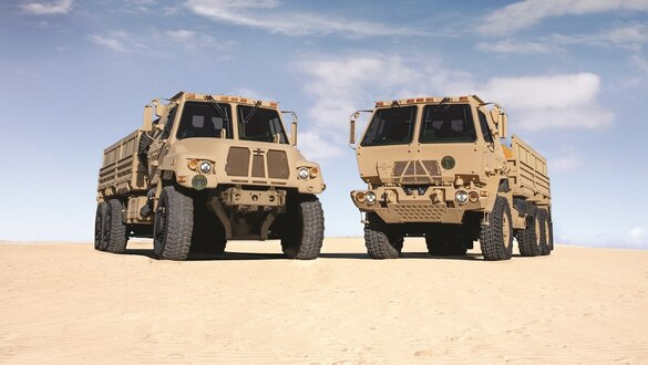 Army resumes testing for its family of medium tactical vehicles