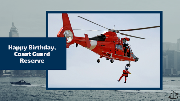 Happy Birthday, U.S. Coast Guard Reserve!
