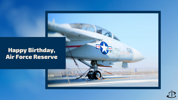 Happy Birthday U.S. Air Force Reserve!