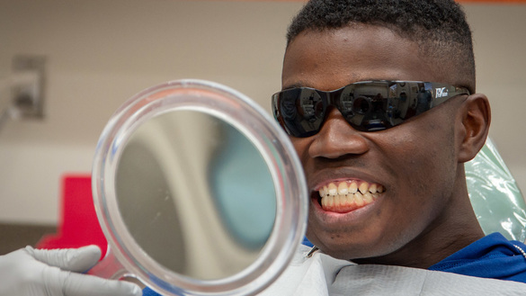 Marine Receives DOD's First Jaw Reconstruction Using 3D-Printed Teeth