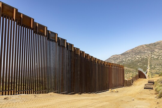 Trump administration marks 100 miles of border wall, vows 'many more' to come