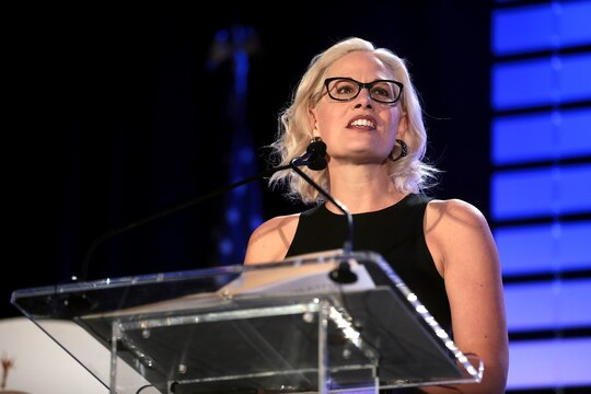Opinion: Impeachment vote shows Kyrsten Sinema isn't so independent, after all