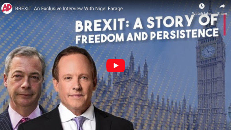 BREXIT: An Exclusive Interview With Nigel Farage