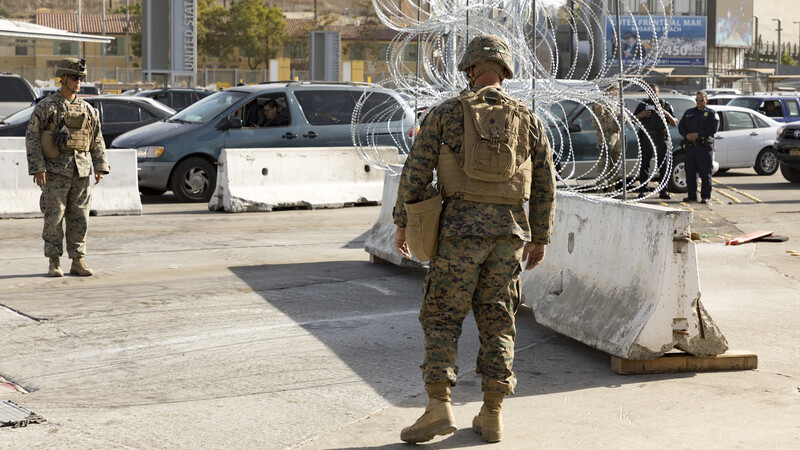 Trump is sending 500 troops to Mexican border to aid agents struggling with security efforts amid the coronavirus fight