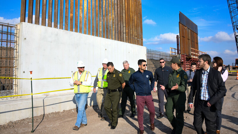 The Trump Administration Has Built Dozens of Miles of Border Wall Since  Coronavirus Outbreak Began