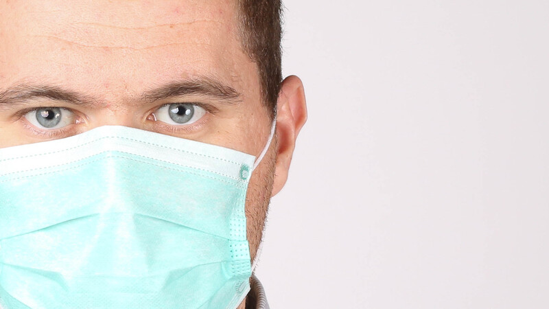 If you imagine that a local business making surgical face masks is working 24/7, guess again