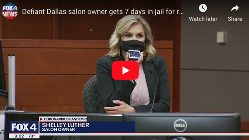 Texas judge JAILS defiant remorseless hair salon owner who opened her business despite stay-at-home orders