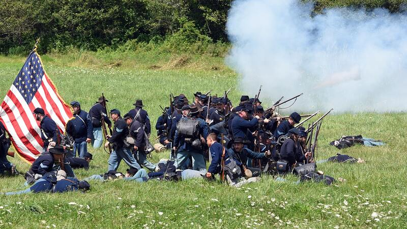 Civil War Becomes Inevitable in the USA
