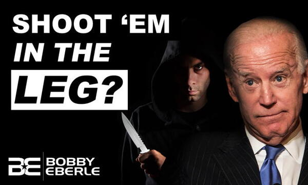 This is Why Joe Biden's 'Shoot Him In The Leg' Advice Is So Insufferably Stupid