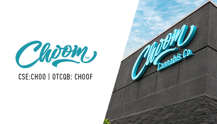 Choom (CSE: CHOO; OTCQB: CHOOF) Opens Cannabis Retail Store in Calgary, Alberta