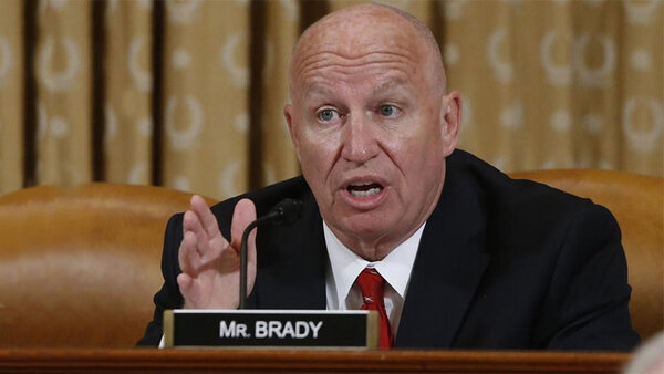 Brady Lauds Automatic Coronavirus Relief Payments for Social Security Recipients