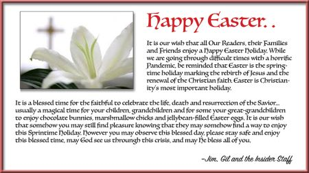 Easter Message 2020