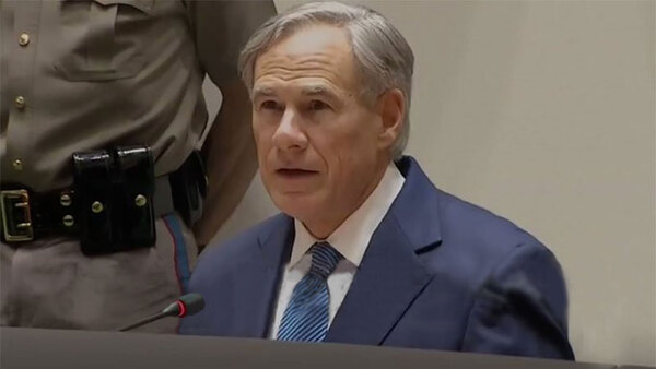 Gov. Abbott Announces U.S. Navy Support In Rio Grande Valley, Southwest Texas to Help Combat COVID-19 CoronaVirus