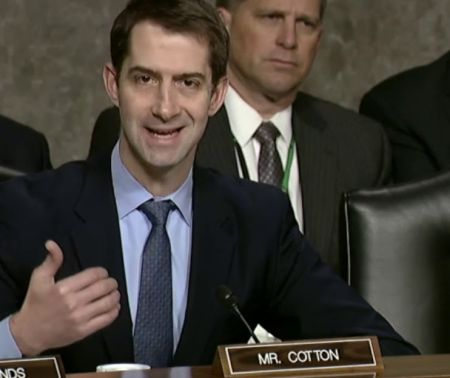 "Republican Sen. Tom Cotton: ""When you Tear Down Statues of George Washington & Ulysses Grant, It's Not about the Civil War."