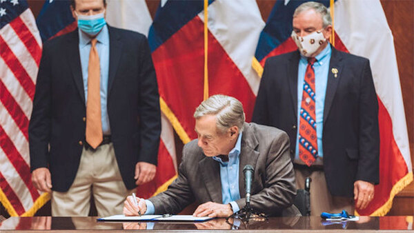 Gov. Abbott Hosts Signing of Shared Stewardship Agreement with  Agriculture Secretary Sonny Perdue