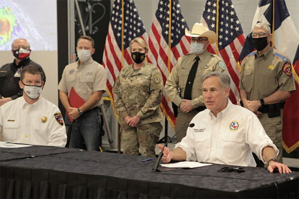 Gov. Abbott Announces FEMA Approval of Federal Emergency Declaration Ahead Of Tropical Storms Laura, Marco
