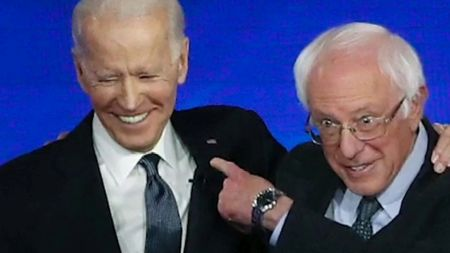 Bernie Sanders Angling for Sect. of Labor Role in Biden Administration