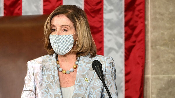 Nancy Pelosi's & the New Socialist-Democrat House Closes Opening Day Prayer to God & Brahma with 'Amen and Awoman'