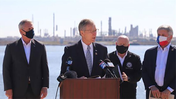 Cong. Babin, Leader McCarthy, Houston Delegation Join to Discuss Biden's Attack on Texas Energy Jobs