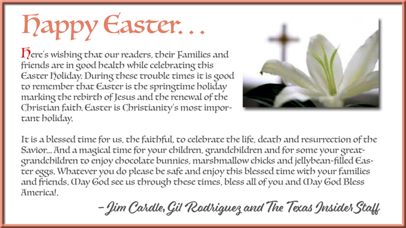 Happiest of Easters from Texas Insider 2021