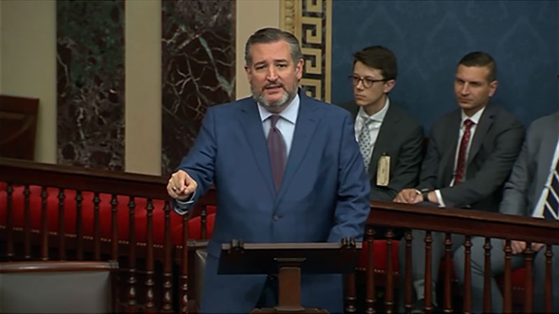 CRUZ: Mr. President, Texans & Americans are Done with COVID Mandates – For Good