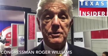 Day 2 GOP Convention Coverage: Cong. Roger Williams & more...