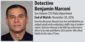 Texas Governors Office Offers Reward in San Antonio Police Detectives Murder