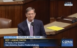 Lamar Smith: Has the media learned any lessons? Will they now try to be objective? Not likely...