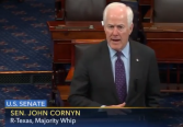 Cornyn: Chuck Schumer has the hardest job in Washington.
