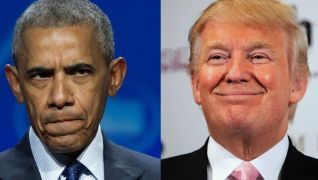 Trump & Obamas Approval Ratings at End of Their 1st Year? 46 and 47