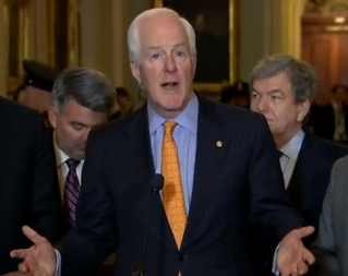 CORNYN: We can sense the willingness of the American economy to rise again & benefit all Americans.