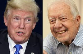 JIMMY CARTER: I Think the Media Have Been Harder on Trump Than Any Other President.