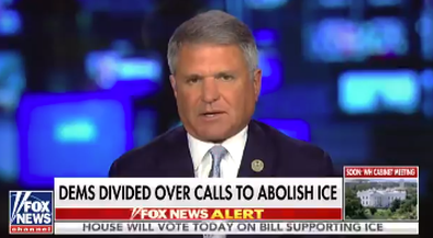 As Democrats Seek to Abolish ICE 70 of Americans Favor ICE as Law Enforcement Agency says Chairman McCaul