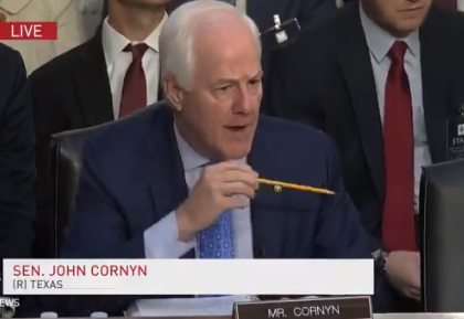 CORNYN: Democrats Announced Their Opposition to this Nominee Even Before Todays Hearing