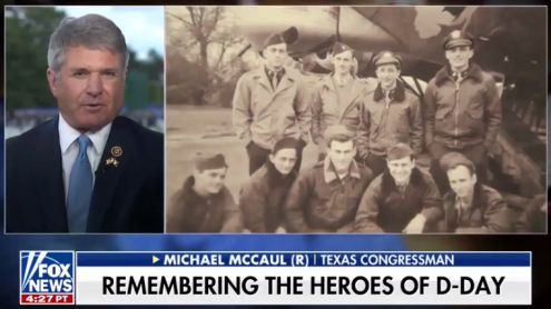 Cong. McCaul: Its Important the Children of This Current Generation Know D-Day was the Turning Point & Continue Handing Down this Story to Those Who Follow