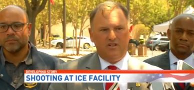 Shooting at San Antonio ICE Offices: Had the bullets gone two inches in another direction wed be talking about the murder of a Federal Official.