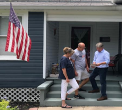 Cong. McCaul & Campaign Knock on Over 25000 Doors
