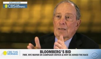 Democrat Bloomberg of His Fellow Presidential Candidates says: Trump Would Eat Them Up