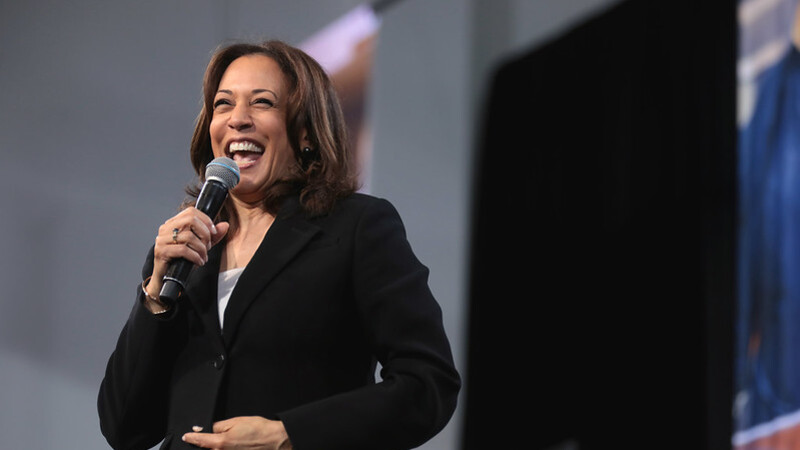Harris gets tough reviews over border on first foreign trip