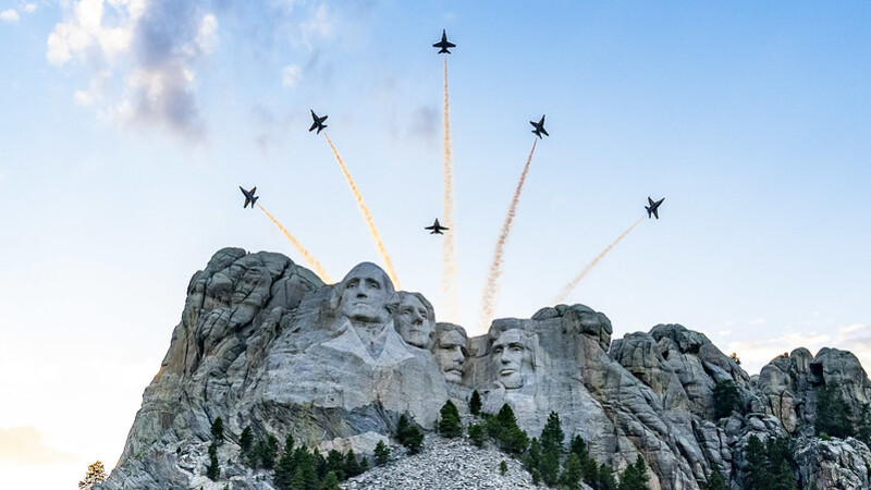 South Dakota Gov. Noem vows to sue over July 4 fireworks cancelation at Mount Rushmore